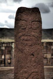 Bolivien Reisebericht: Monolith Tiahuanaco