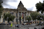 Parlamentsgebäude, La Paz, Bolivien