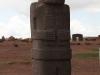 Bolivien Reisebericht: eine Stele in Tiahuanaco