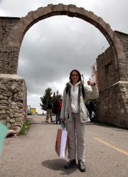 Nikki zwischen Peru und Bolivien