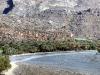 Das Bergdorf Ghul am Fuße des Jebel Shams