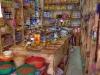 Nizwa Souk: Blick in ein orientalisches Geschäft im Basar