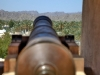 Nizwa Fort: das große Fort in der Oasenstadt im Oman