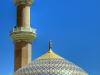 Kuppel der großen Moschee von Nizwa, Oman