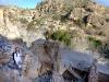 Eingestürtzes Dach einer Ruine, Oman