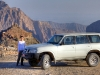Pause für uns und den Jeep, Oman