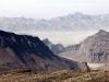 Nicht die Mondlandschaft, sondern Gebirge in Oman