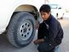 Luft aus den Reifen lassen, Oman