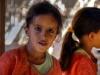 Keine Spiegelung, sondern ein weibliches Zwillingspärchen im Beduinenzelt, Oman