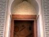 Tür zum Fort von Nakhl, Oman
