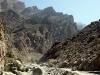 Fahrt durch das Wadi Bani Awf, Oman