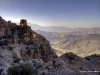 Blick vom Pass nach Norden, Oman