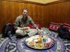 In Nizwa: Michi im Bin Ateeq Restaurant