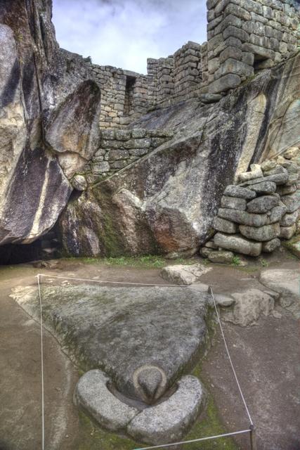 Versteinerter Kondor, Machu Picchu