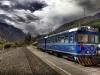 Eisenbahn Machu Picchu in Aguas Calientes