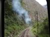 Bahnschienen Aguas Calientes nach Machu Picchu
