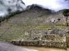 Terrassen Machu Picchu, Peru