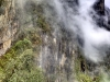 Abgrund am Inkatrail bei Machu Picchu, Peru