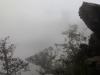 Inkatrail: Nebel in den Anden vor Machu Picchu