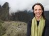 Nikki vor der Kulisse von Machu Picchu
