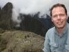 Michi vor der Kulisse von Machu Picchu