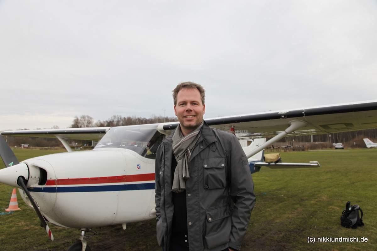 Pinch Hitter Michael Dunker: Erste Flugstunde mit der Flugschule Hamburg