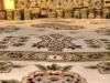 Kunstvolle Teppiche in den Verkaufsräumen eines ägyptischen Teppichhändlers in Giza, Kairo. Foto: www.nikkiundmichi.de