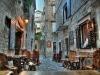 Rustikales Restaurant Da Capo in der Innenstadt von Trogir