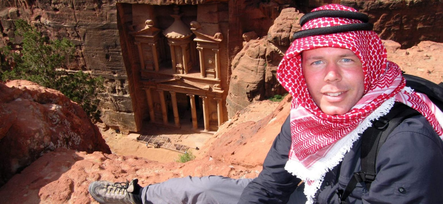 Michael Dunker in Jordanien