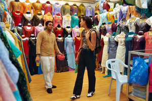 Einkaufsbummel durch Little India in Singapur. Foto: nikkiunmichi.de