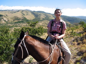 Reiten im Rincón de la Vieja in Costa Rica. Foto: www.nikkiundmichi.de