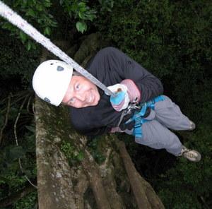 Canopy und Abseilen in Monteverde, Costa Rica. Abenteuer im Dschungel. Foto: www.nikkiundmichi.de