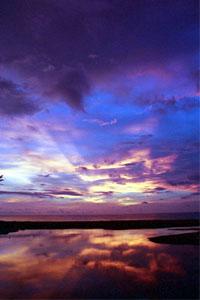 Khao Lak_ Traumhafter Sonnenuntergang. Foto: www.nikkiundmichi.de