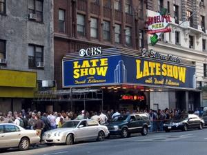 Die Show von David Letterman in new York City. Foto: www.nikkiundmichi.de