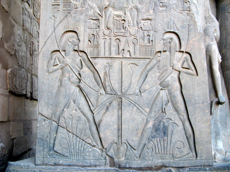 Luxor Tempel Relief