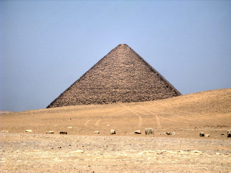 Rote Pyramide Kairo Aegypten