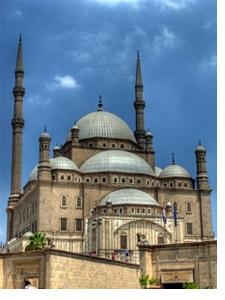 Die Mohammed Ali Moschee in Kairo wird auch Alabaster-Moschee genannt. Foto: www.nikkiundmichi.de