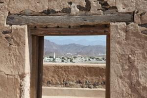 Das Wüstenschloss Jabrin liegt in einer Palmenoase südlich des al-Akhdar-Gebirges. Foto: Michael Dunker