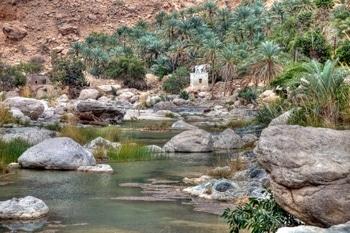 Wadi Tiwi, Oman: Letzte Tage der Rundreise durch Oman.