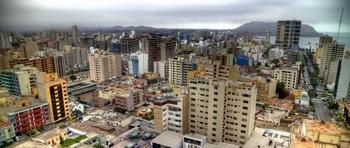 Lima, Hauptstadt von Peru, ist auf den ersten Blick keine Schönheit...
