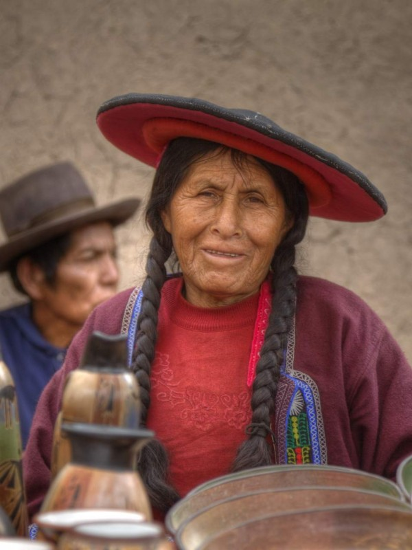Quechua Frau Peru Anden