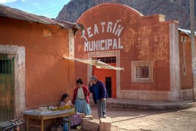 Quechua unter sich: Dorfleben auf dem Altiplano der Anden in Peru.
