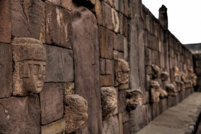 Tiahuanaco: Ausgrabungen.