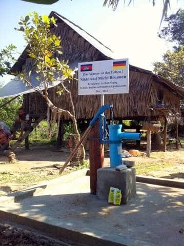 Brunnenbau Kambodscha 01