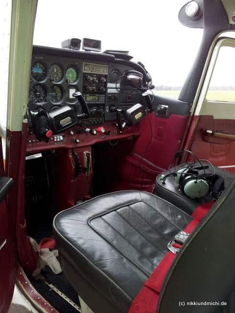 Cessna 172 Flugschule Hamburg