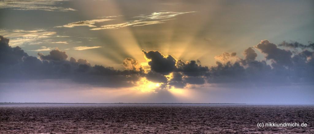 Sonnenaufgang Saint Croix Jungferninseln