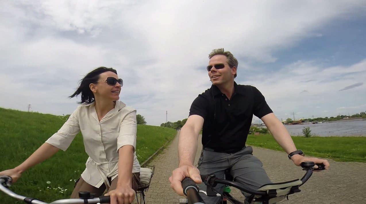 fahrradtour Hamburg nikki und michi