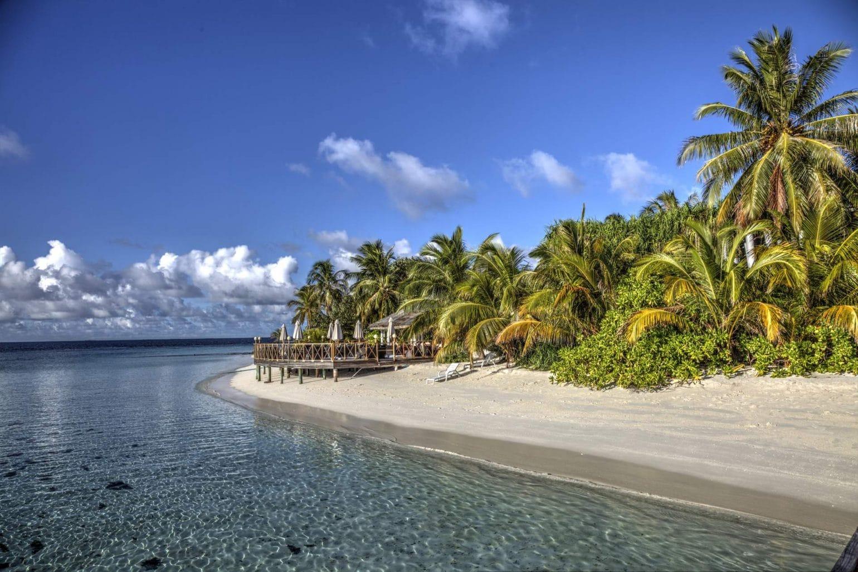 Barfußinsel Malediven Angaga