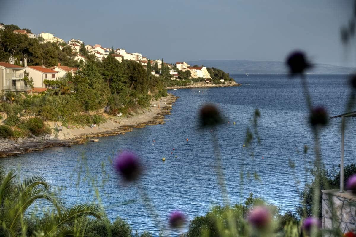 Urlaub auf Ciovo Bucht