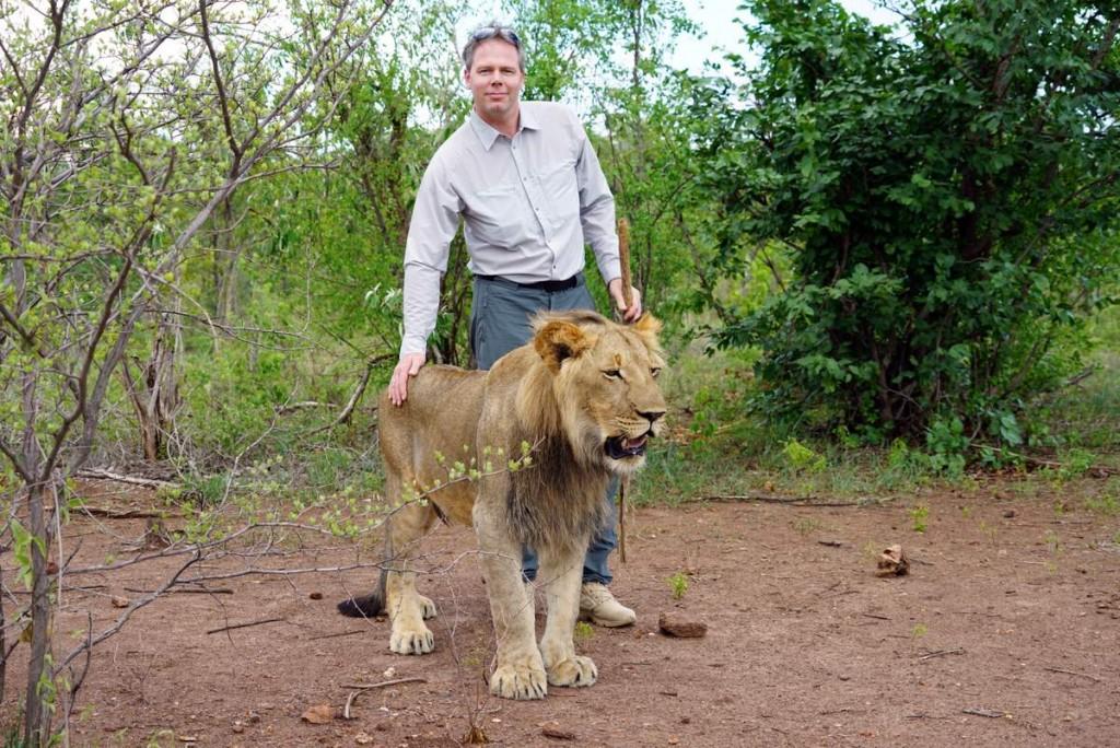 Lions walk Michael Dunker